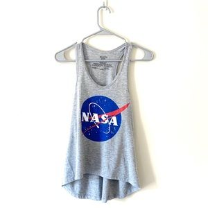NASA space science tank top